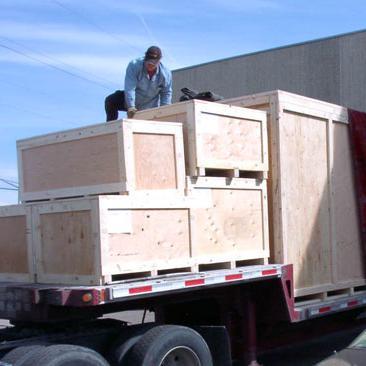卡车装货箱